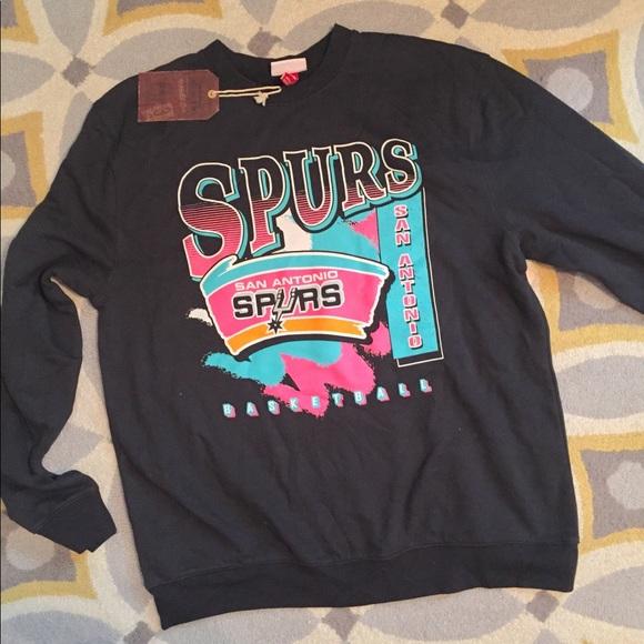 big sale 66d47 ab61a Vintage San Antonio Spurs Sweatshirt NEW NWT
